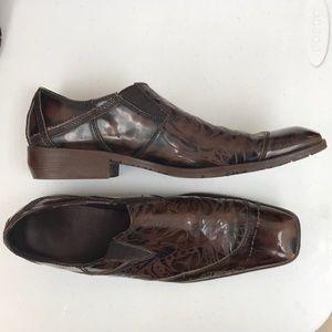 Men's Ed hardy loafers size 10 love kills design